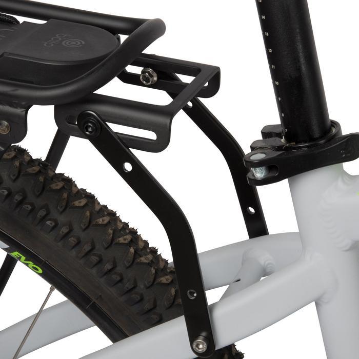 """Fahrrad-Gepäckträger 500 Onesecondclip 26""""-28"""" kompatibel mit allen Bremsen"""