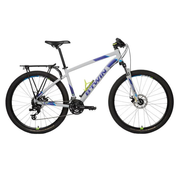 """26-28""""自行車行李架500 Onesecondclip - 全黑含碟式煞車"""