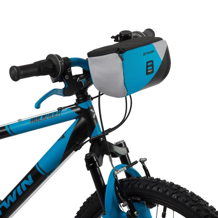 Fahrrad-Lenkertasche Kinderrad blau
