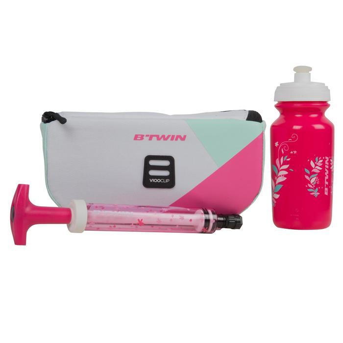Fahrrad-Lenkertasche Kinderrad weiss/rosa