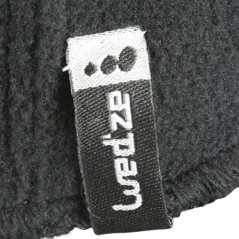 CHILDREN'S FLEECE SKIING BALACLAVA - BLACK