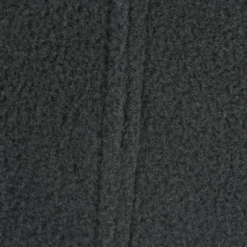หมวกโม่งผ้าฟลีซสำหรับผู้ใหญ่ใส่เล่นสกี (สีดำ)