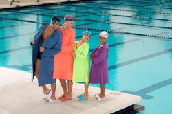 Microvezel badjas heren met kap en strikceintuur - 1038347