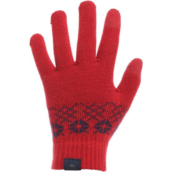 Tactiele kinderhandschoenen voor trekking Arpenaz 50 - 103835