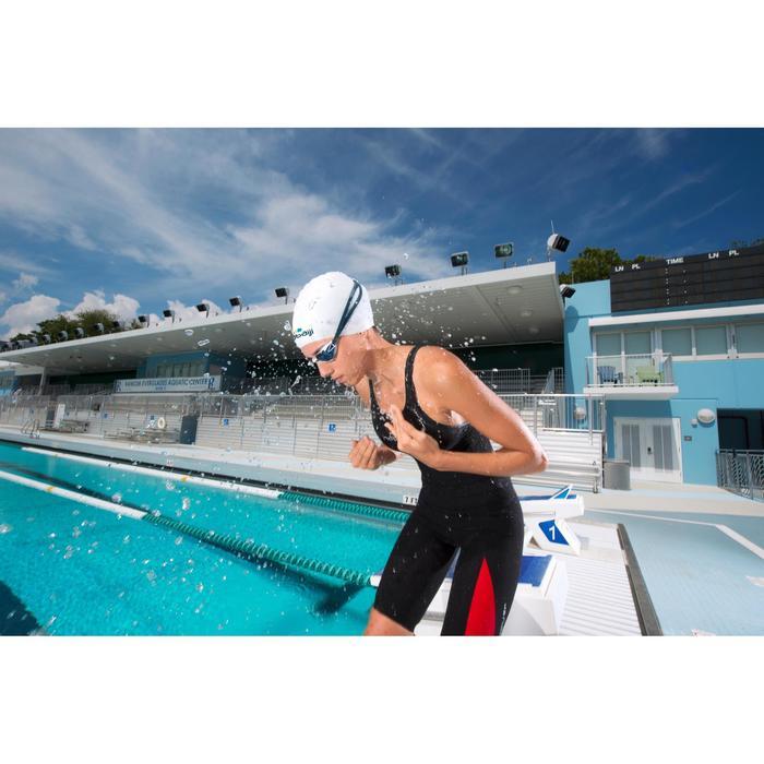 Combinaison de compétition de natation FINA femme B-Fast noir rouge - 1038364