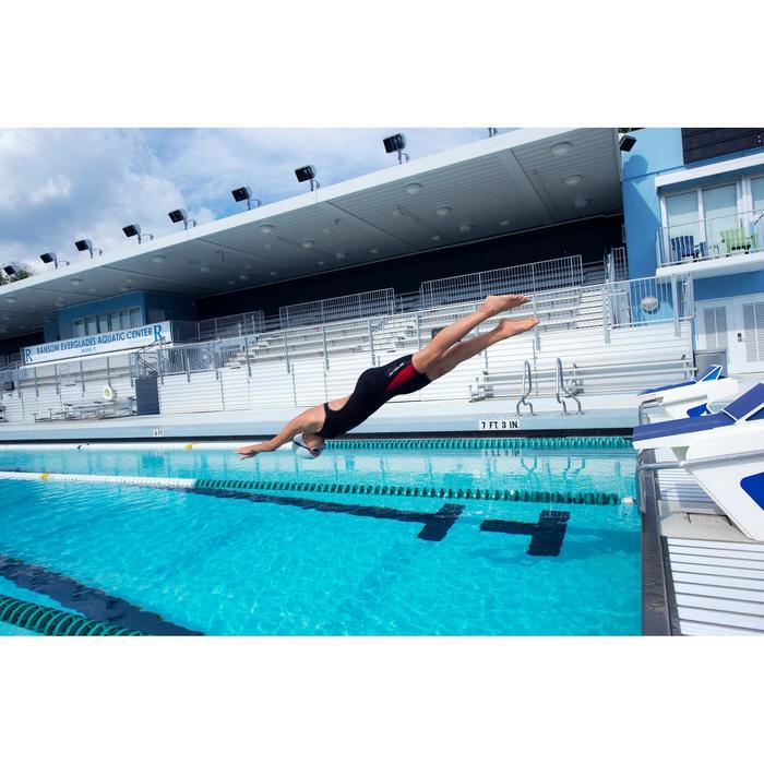 Combinaison de compétition de natation FINA femme B-Fast noir rouge - 1038394