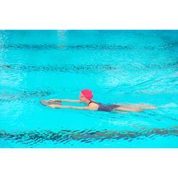 Stoff-Badekappe pink Größe S und L