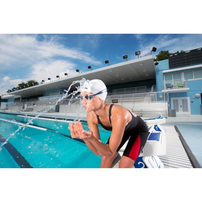 Combinaison de compétition de natation FINA femme B-Fast noir rouge - 1038433
