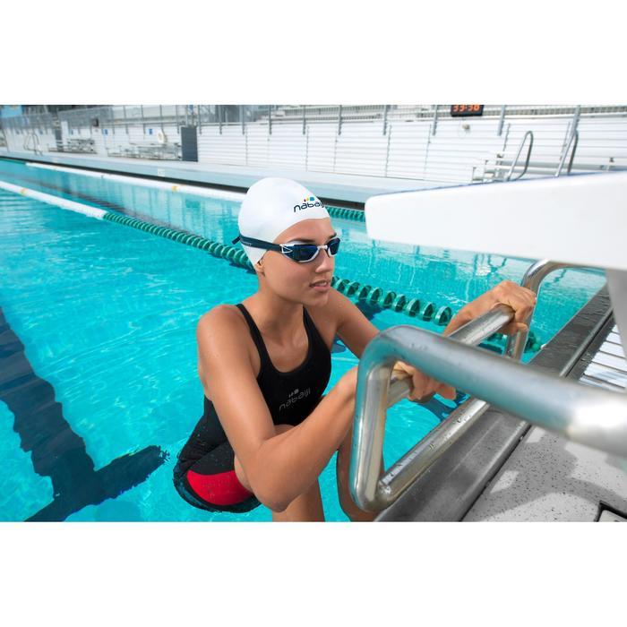 Combinaison de compétition de natation FINA femme B-Fast noir rouge - 1038437