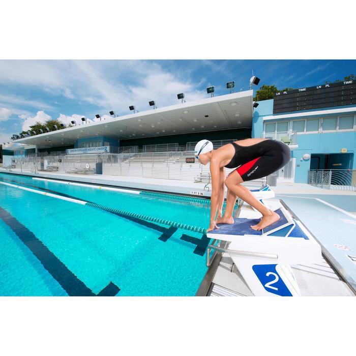 Combinaison de compétition de natation FINA femme B-Fast noir rouge