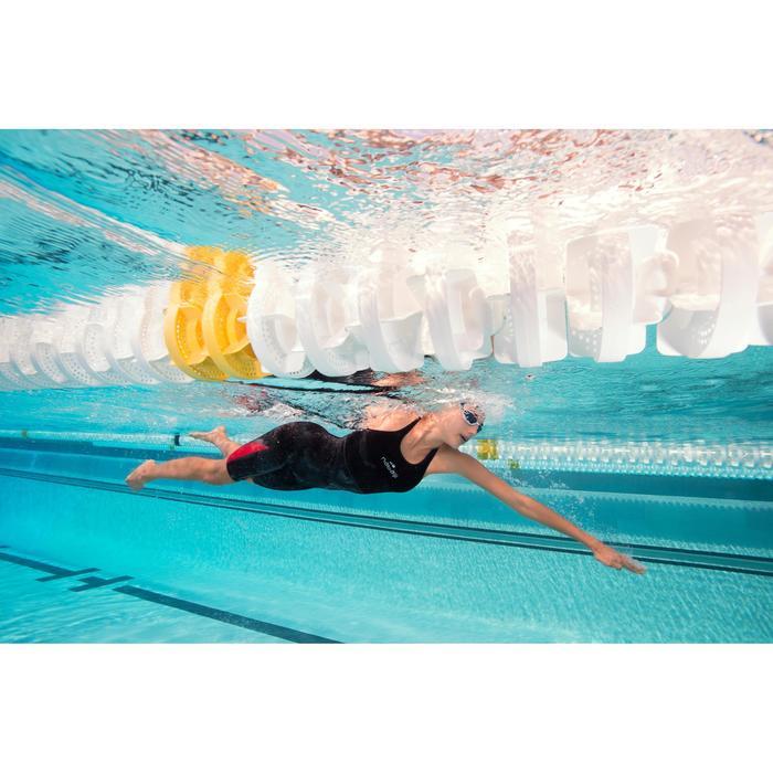 Combinaison de compétition de natation FINA femme B-Fast noir rouge - 1038450