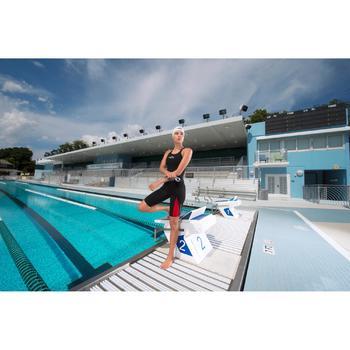 Combinaison de compétition de natation FINA femme B-Fast noir rouge - 1038499
