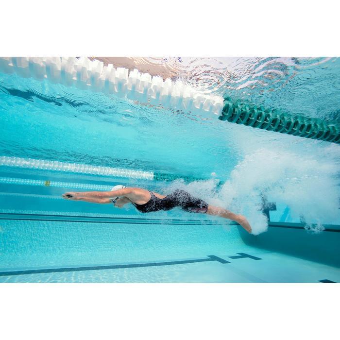 Combinaison de compétition de natation FINA femme B-Fast noir rouge - 1038513