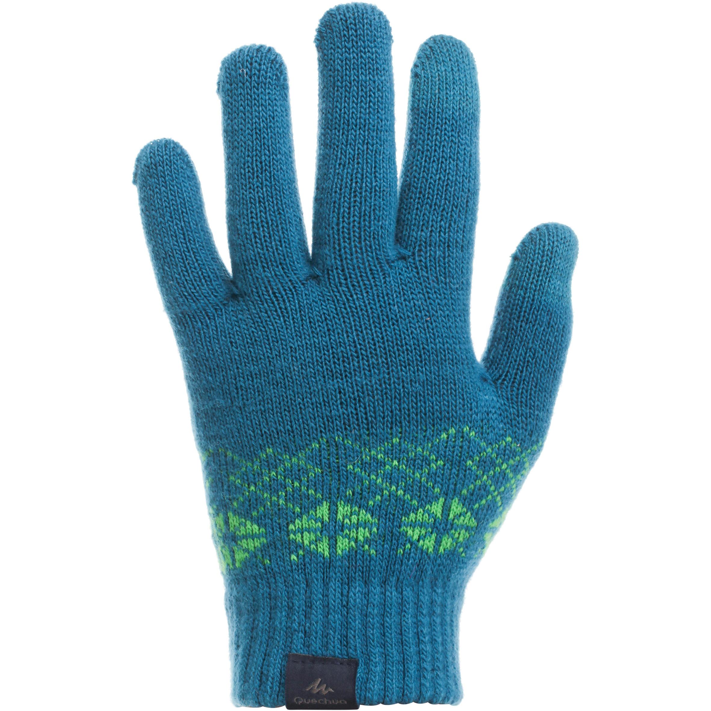 Blue junior Explor 550 trekking journey gloves
