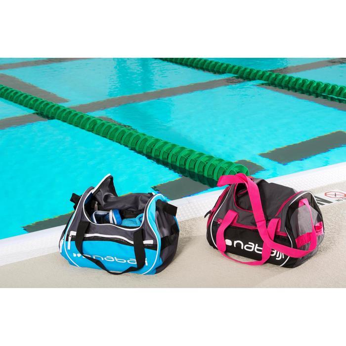 Zwemtas Swimy 30 l grijs/roze