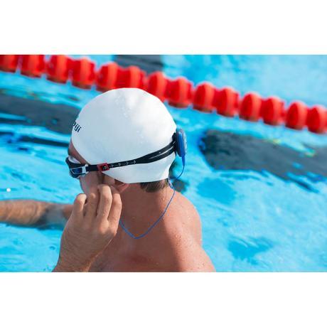 Lecteur mp3 tanche de natation swimmusic 100 bleu nabaiji for Lecteur mp3 etanche piscine