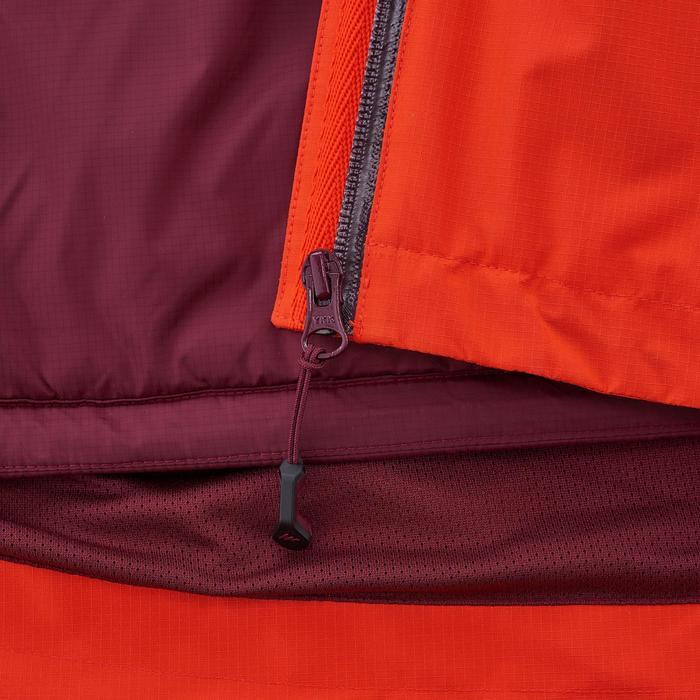 3-in-1 trekkingjas voor heren Rainwarm 500 rood