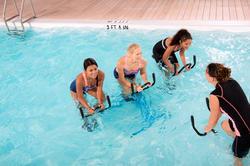 Chloorbestendige aquabike topje voor dames Anna Allcrac - 1038903