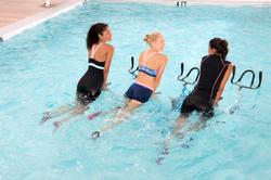 Chloorbestendige aquabike topje voor dames Anna Allcrac - 1038907