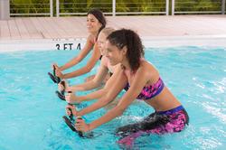 Chloorbestendige aquabike topje voor dames Anna Allcrac - 1038910
