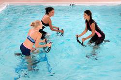 Chloorbestendige aquabike topje voor dames Anna Allcrac - 1038911