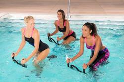 Chloorbestendige aquabike topje voor dames Anna Allcrac - 1038913