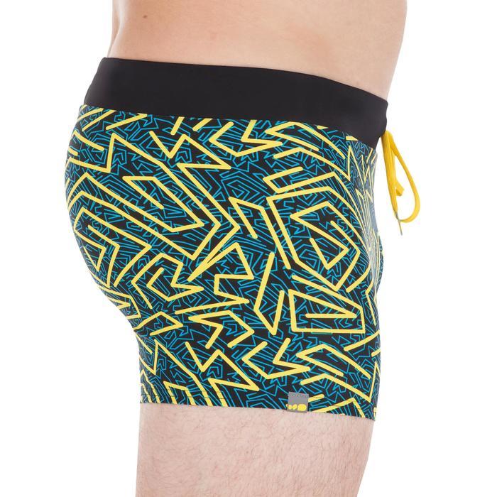 100 PEP男款四角泳褲-黃色