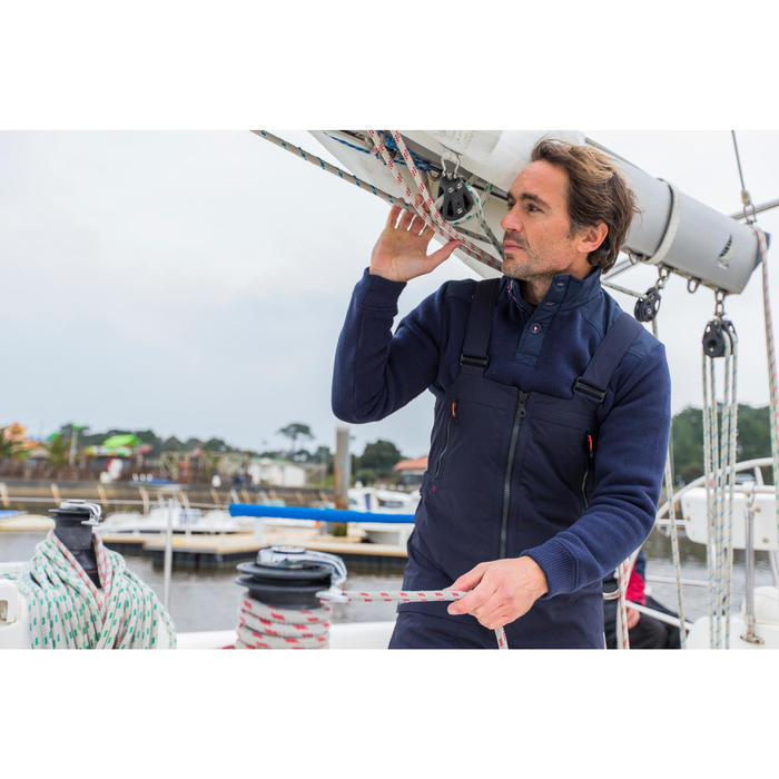 Segelpullover Cruise Herren grau
