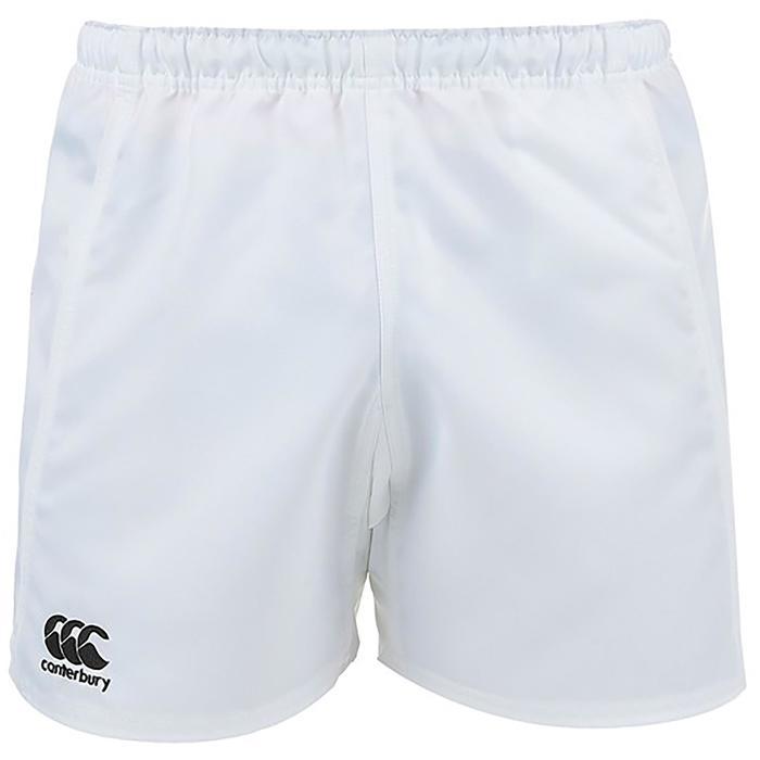Rugbyshort Advantage kinderen wit