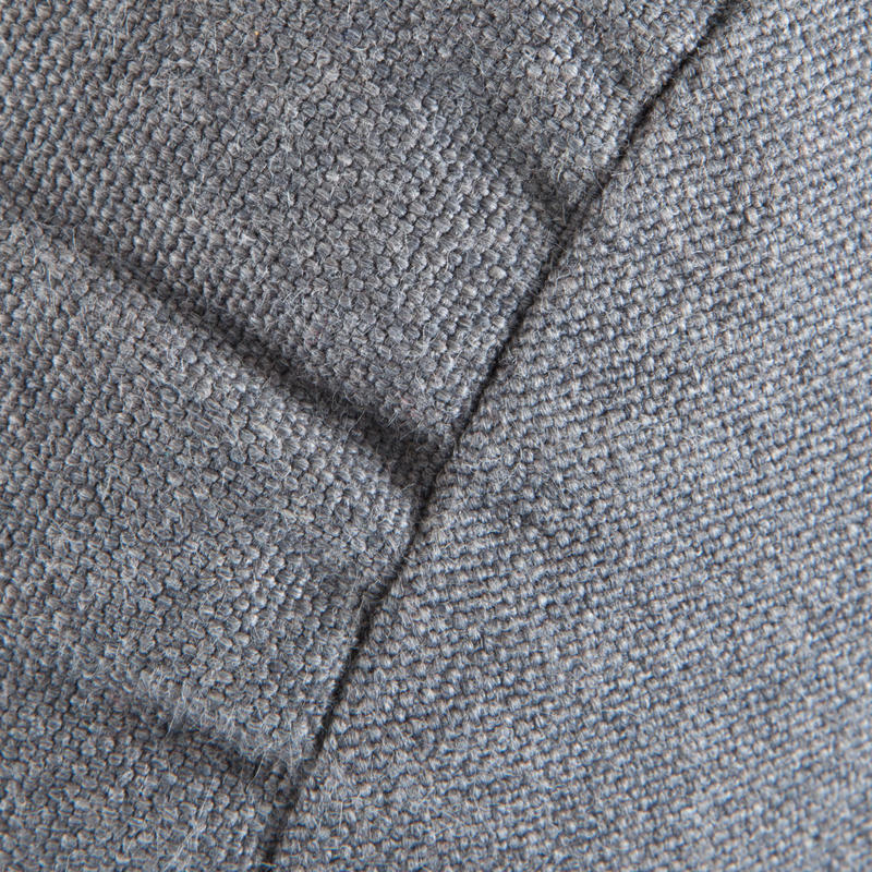 Organic Cotton Yoga Bolster Cushion - Mottled Grey