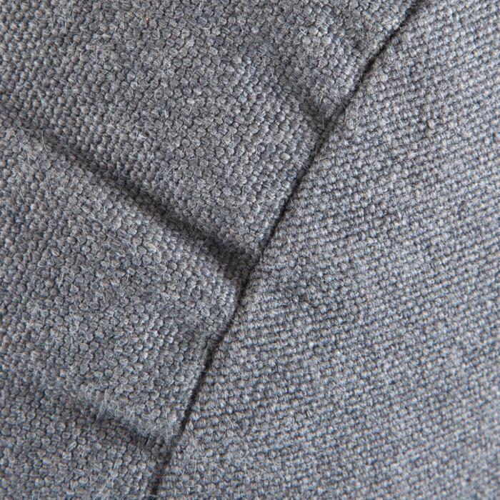 Bolster - coussin de yoga gris , coton issu de l'agriculture biologique. - 1039694