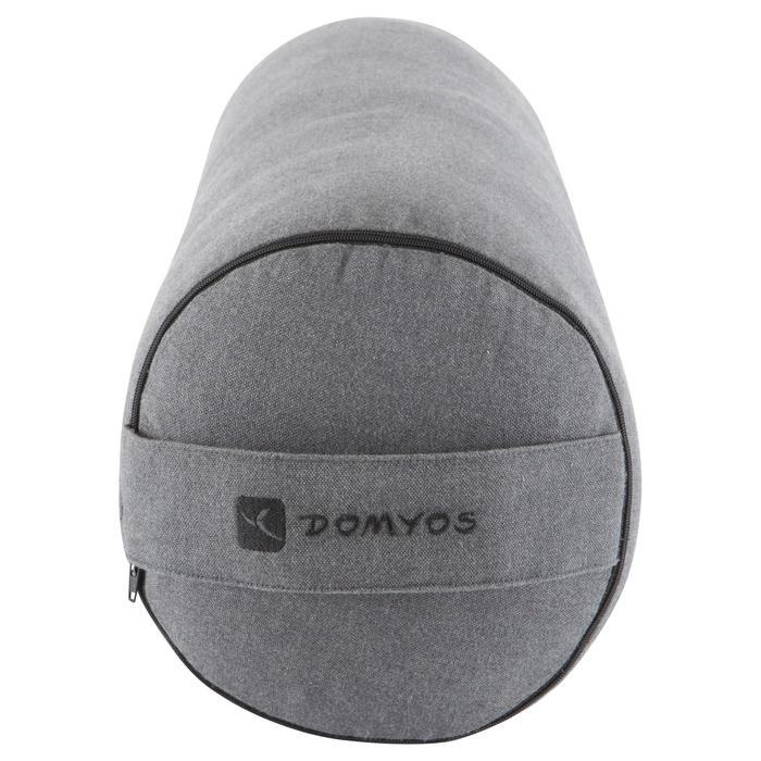 Bolster - coussin de yoga gris , coton issu de l'agriculture biologique. - 1039735