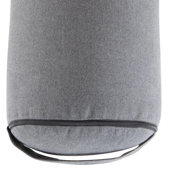 Bolster - coussin de yoga gris , coton issu de l'agriculture biologique. - 1039745
