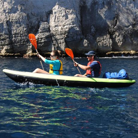 Kayak gonflable 1 ou 2 places itiwit 2 vert tribord - Meilleur kayak gonflable ...