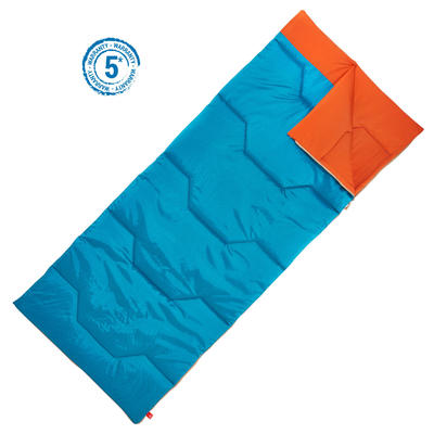 Спальний мішок ARPENAZ 15° для походів та туризму - Cиній