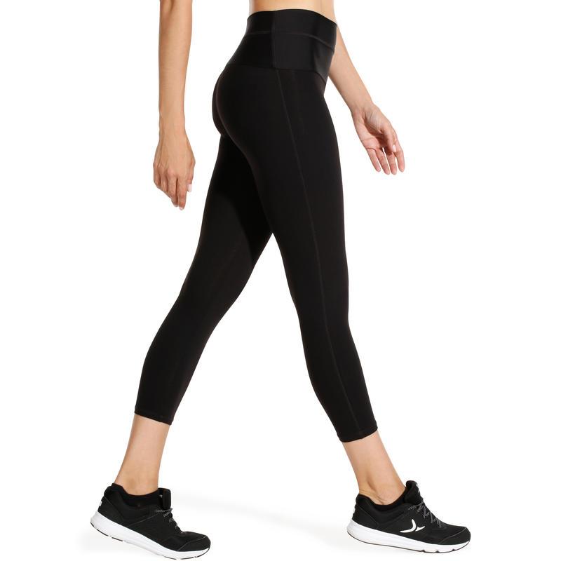 Shape Women's Fitness Flat-Stomach 7/8 Leggings - Black