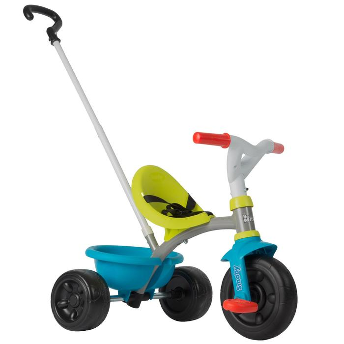 TRICYCLE ENFANT BE MOVE SMOBY BLEU/VERT - 1041877