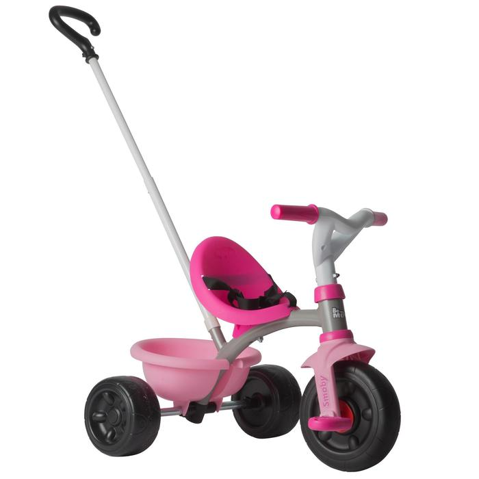TRICYCLE ENFANT BEMOVE SMOBY ROSE 2017 - 1041886