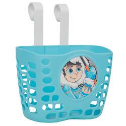 兒童自行車置物籃 - 藍色