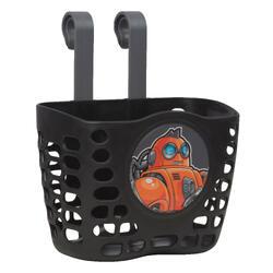 兒童自行車置物籃 - 黑色
