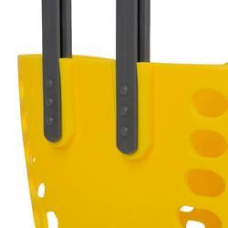 Fietsmandje kinderfiets geel