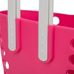 Fahrradkorb Lenker Kinder rosa