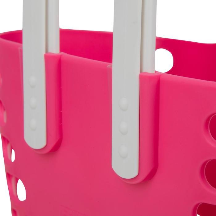Fietsmandje voor kinderfiets roze
