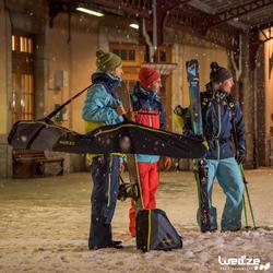 Klettband Ski