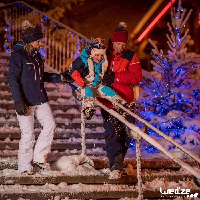 Pantalon ski homme Slide 700 marine - 1042206
