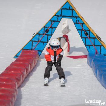 CHILDREN'S SKI BOOTS 100 - WHITE