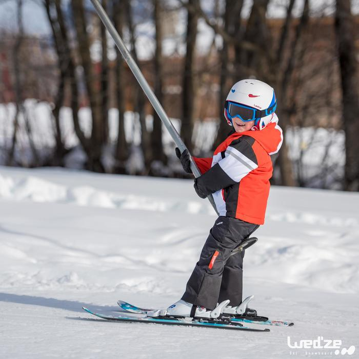 CHILDREN'S DOWNHILL SKIING SKI-P KID 300 BLUE