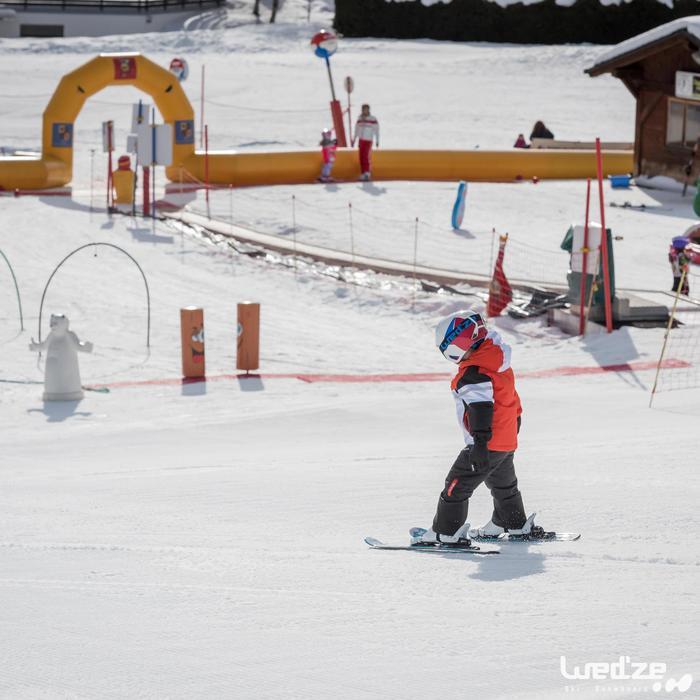 Skischoenen voor kinderen 300 wit