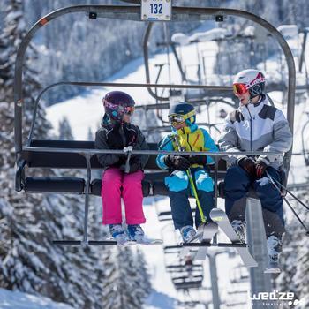 MASQUE DE SKI ET DE SNOWBOARD HOMME BONES 500 BEAU TEMPS GRIS-18 - 1042216