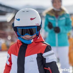 兒童下坡雙板滑雪板SKI-P KID 300藍色